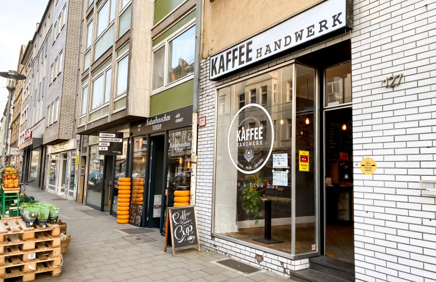 Kaffeehandwerk Flingern | Hotspots in Düsseldorf: Die Birkenstraße in Flingern | Mr. Düsseldorf