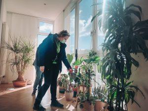 Zimmerpflanzen-Profi Frau Engels von Bogie's bei uns zu Hause | 8 Tipps für einen grüneren Daumen | Mr. Düsseldorf 2021