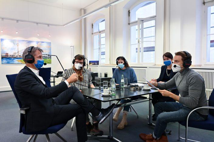 Kaffeekränzchen im Rathaus mit Bäcker- und Bürgermeister Josef Hinkel | rheingeredet | Podcast | Mr. Düsseldorf | Foto: Michael Lübke