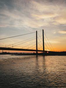 Rhein | Mr. Düsseldorf & Foto Koch starten die Düsseldorfer Foto-Challenge | Foto: Alexandra Simankova