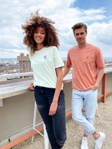 Großstadtsafari: Mintgrünes Shirt mit Koala   superbirdy x Mr. Düsseldorf