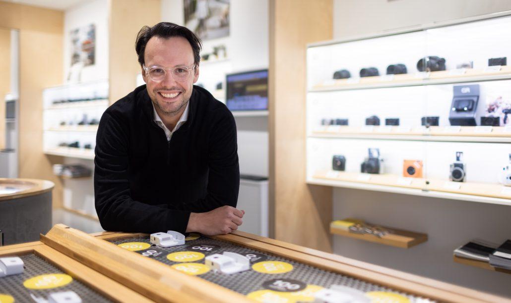 Geschäftsführer Thomas Görner   Interview mit dem Foto Koch Düsseldorf Geschäftsführer Thomas Görner   Mr. Düsseldorf   Foto: Foto Koch