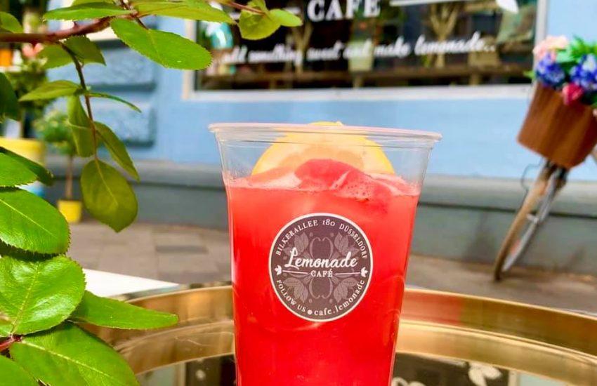 Café Lemonade |Die Top 10 süßen Terrassen in Düsseldorf | Mr. Düsseldorf |Topliste |Foto: Café Lemonade