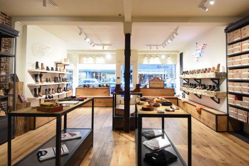 Innenansicht des Stores | Red Wing Shoes | Lieblingsläden | Mr. Düsseldorf