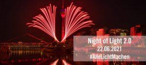 Night of Light 2.0 | Mr. Düsseldorf |Düsseldates |Foto: AlarmstufeRot