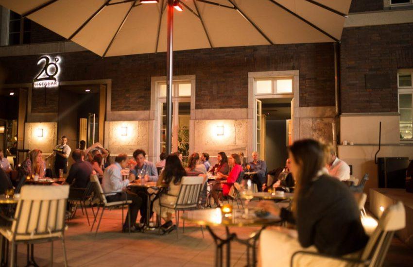 20 Grad  Die Top 15 Dinner Terrassen in Düsseldorf   Mr. Düsseldorf  Topliste  Foto: 20 Grad