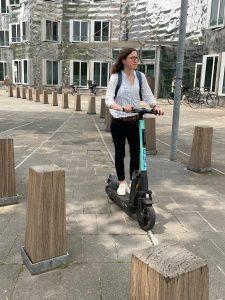 E-Scooter Medienhafen | redy App der Rheinbahn |Mr. Düsseldorf