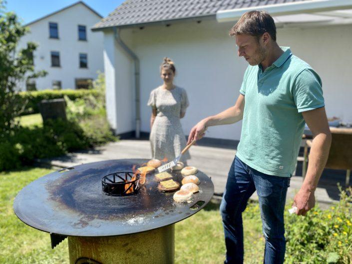 Burger auf dem Grill | Wagyu Sauerland Podcast |rheingeredet |Mr. Düsseldorf