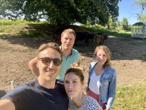 Katrin Schütz & Christoph Willeke mit Paula & Timo | Wagyu Sauerland Podcast |rheingeredet |Mr. Düsseldorf