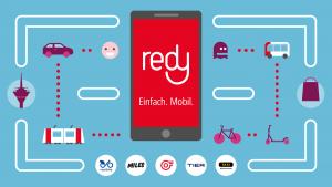 redy App der Rheinbahn  Mr. Düsseldorf