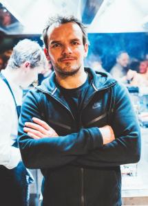 Steffen Henssler im Gespräch mit Timo Beck  Credit Valentin Ammon