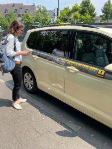 Taxi nach Hause | redy App der Rheinbahn |Mr. Düsseldorf