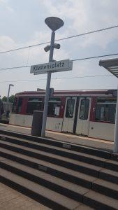 U79 Klemensplatz   redy App der Rheinbahn  Mr. Düsseldorf