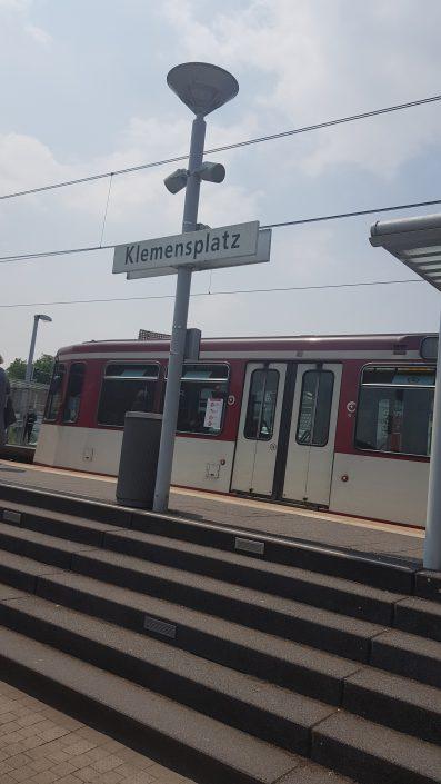 U79 Klemensplatz | redy App der Rheinbahn |Mr. Düsseldorf