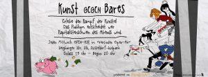 Kunst gegen Bares | Mr. Düsseldorf |Düsseldates | Foto: Vier Linden