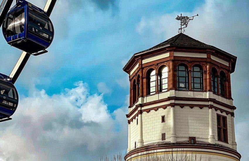 Schlossturm | Top 10 Schlösser in Düsseldorf und Umgebung | Magazin | Mr. Düsseldorf |Foto: @_fotowin