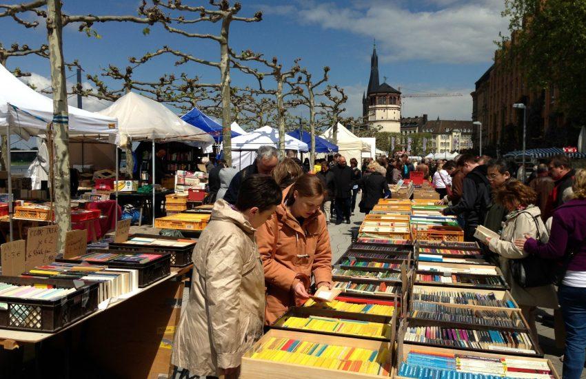 Büchermeile 2021 | Mr. Düsseldorf |Düsseldates |Foto: Altstadt Marketing GmbH
